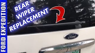 How To Replace 2007-2017 Ford Expedition Rear Wiper