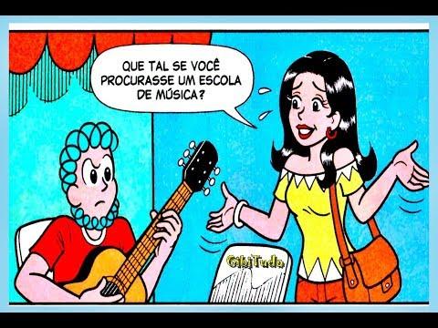 Rolo - Canta mal, Gibitudo Turma da Mônica