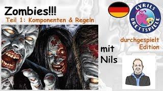 Cyrils Brettspiele - Zombies!!! Brettspiel (S23E01) - Komponenten & Regeln