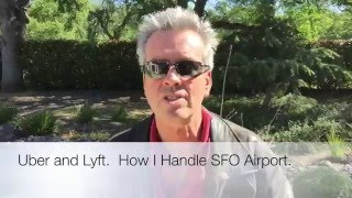 Uber and Lyft and SFO Airport.
