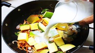 மாங்காயுடன் தேங்காய் பால் சேர்த்து இப்படி செஞ்சு பாருங்க.. / samayal in tamil / mango recipe