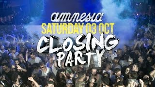 Promo Closing Party  Amnesia Ibiza 2015