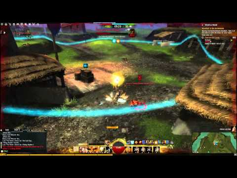 Guild Wars 2 WvW solo Berserker Warrior Roaming Outnumbered