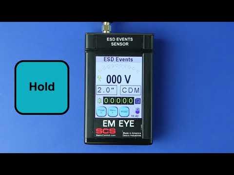 SCS EM Eye - ESD Event Meter - Product Walkthrough