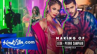 Bastidores: Lexa E Pedro Sampaio – Chama Ela
