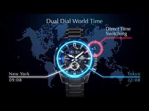 Casio Edifice Race Lap Chronograph