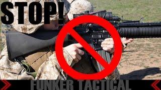 US MARINE: Stop Perpetuating AR15 Myths!