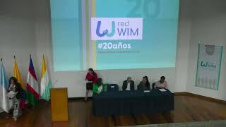 Encuentro Internacional de la redWIM por sus 20 años en la Universidad Javeriana de Cali.