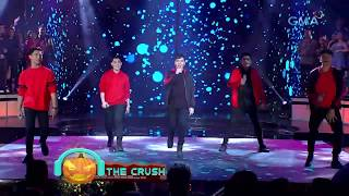 'The Crush' performs a Backstreet Boys dance number | Studio 7
