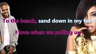 Sevyn Streeter - It Won't Stop (Karaoke/Instrumental) with lyrics  ft. Chris Brown [Official Video]
