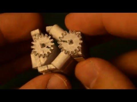 Paper V8 Engine Model