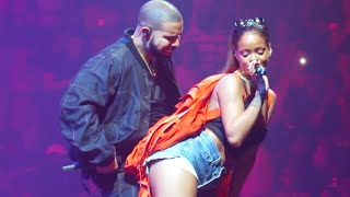 Gambar cover Drake & Rihanna Peforms Too Good (Live At OVO Fest 2016)