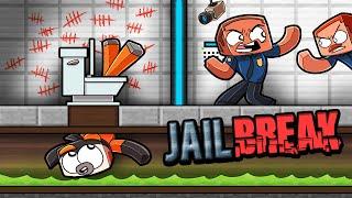 Jail Break - Secret WAY To ESCAPE PRISON! (Minecraft)