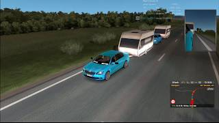 Euro Truck Simulator 2 (ETS2MP) – Funny & Crash Moments (MIKA Trans CZ). 24.01.2019
