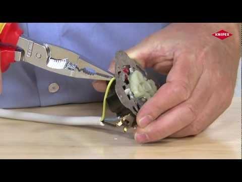 Knipex Pince pour installations électriques