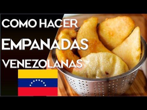 Prepara Empanadas Venezolanas