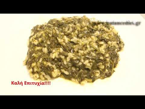Eλαφρύ και πολύ νόστιμο σπανακόρυζο
