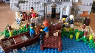 Lego самоделка «Граница Британской империи»