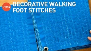 Decorative Quilting With A Walking Foot (Jacquie Gerings Stitch Journal) | Quilting Inspiration