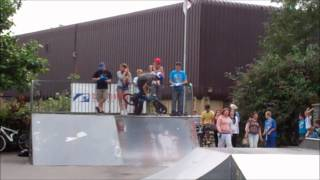 preview picture of video 'Nailsea Skate Comp BMX 2012'