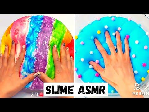 Crunchy Slime ASMR Compilation  Crunchy Slime  Satisfying Slime ASMR Video Compilation