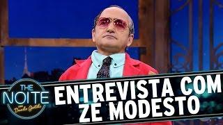 Entrevista Com Zé Modesto   The Noite (18/05/17)