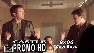 "Castle  ep 8x06 ""Cool Boys""  Extended Promo (HD)"