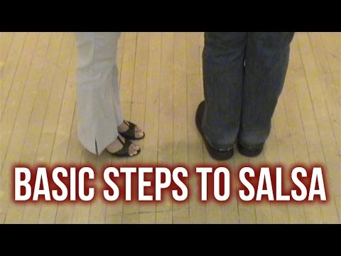 Learn to dance salsa: Basic steps…