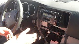 Remove Toyota 4Runner Stereo 2003 - 2009