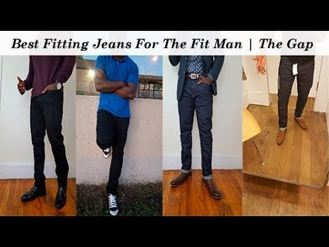 Best Fitting Jeans For The Fit Man | The Gap