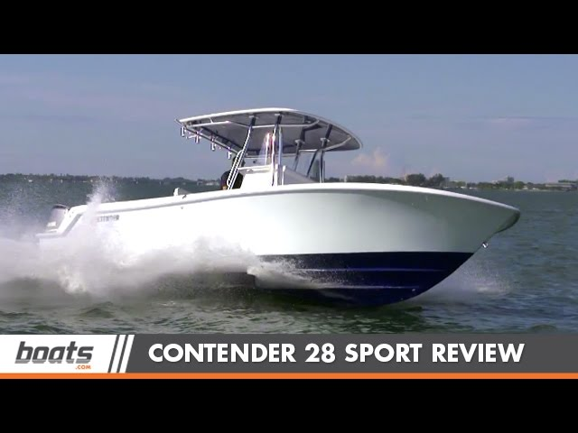 Contender 28 Sport: Boat Review / Performance Test