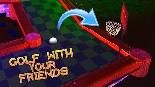 HILARIOUS GAME OF GOLF BASKETBALL! (Golf With Your Friends)