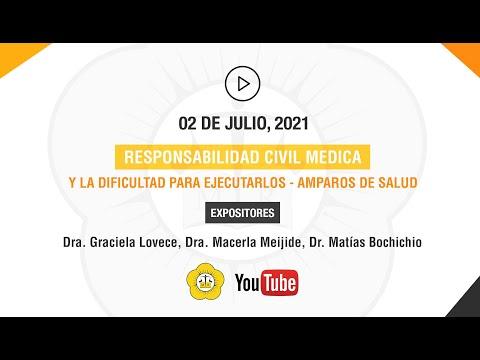 RESPONSABILIDAD CIVIL MÉDICA, RESPONSABILIDAD POR CONTAGIO EN ÉPOCA DE PANDEMIA, AMPAROS DE SALUD - 2 de Julio 2021
