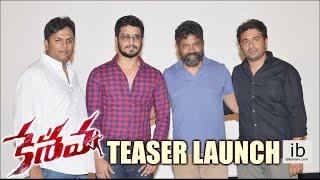Keshava Teaser Launch | Nikhil