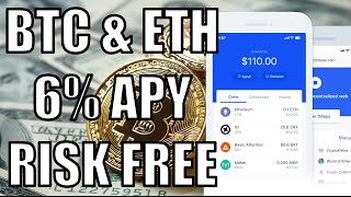 How to earn 6% APY on Bitcoin and Ethereum [Crypto Passive Income] BlockFi
