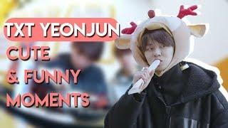 TXT YEONJUN CUTE & FUNNY MOMENTS [ENG SUB]