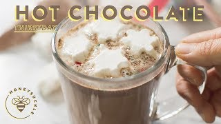 Homemade Hot Chocolate Recipe + DIY Gift Idea 💥 #THIRSTDAYS