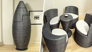INGENIOUS FURNITURE AND SPACE SAVING IDEAS THAT WILL TAKE YOUR HOME TO A NEW LEVEL