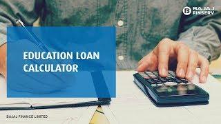 Education Loan Calculator by Bajaj Finserv
