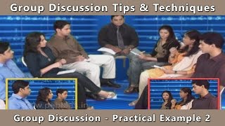 Practical Group Discussion Example | group discussion videos | group discussion tips