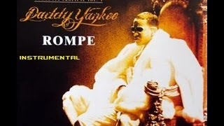 Daddy Yankee Rompe instrumental