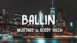 Mustard - Ballin ft. Roddy Ricch (Lyrics) - YouTube