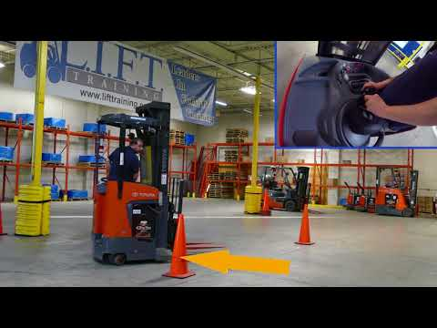 LIFT - Reach Truck Training - 4K Forklift Training (with bloopers at ...
