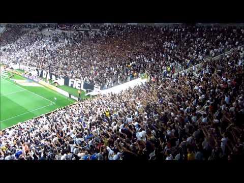 Veja a Festa da Fiel na vitória sobre o Santos