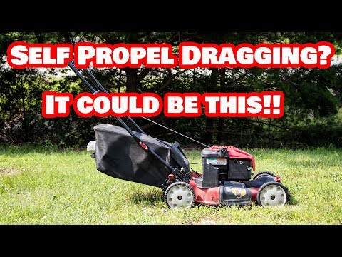 How Can I Push A Self Propelled Mower?
