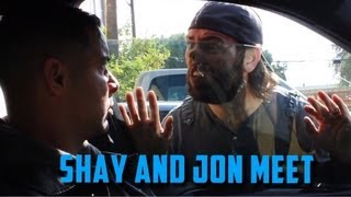 Jon Huertas and Shay Carl Meet