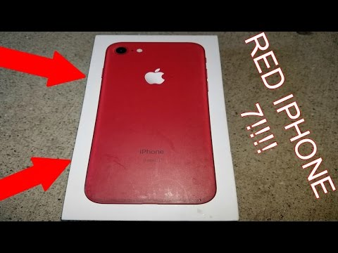 RED IPHONE 7 BOX! Apple Store Dumpster Dive Night!