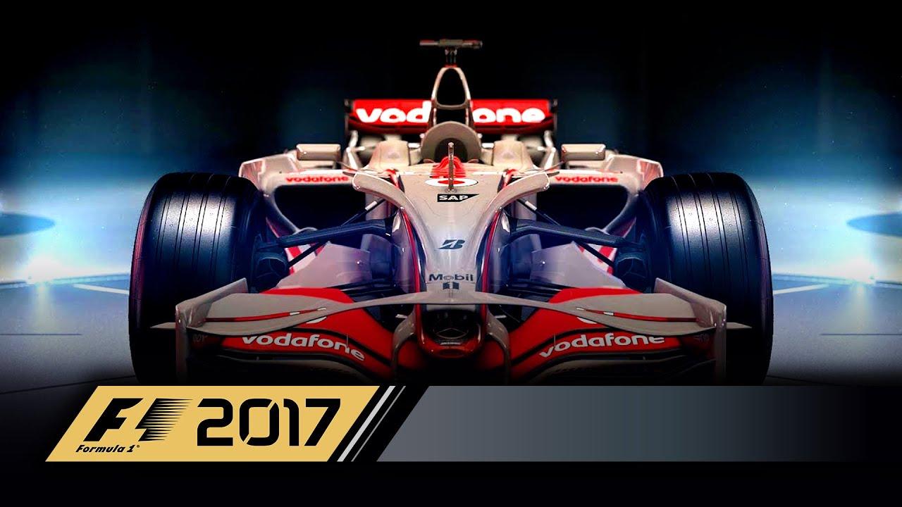 F1 2017 - Le quattro iconiche McLarens