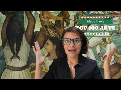 Diego Rivera - dá lhe México e a Revolução   TOP100Arte #73