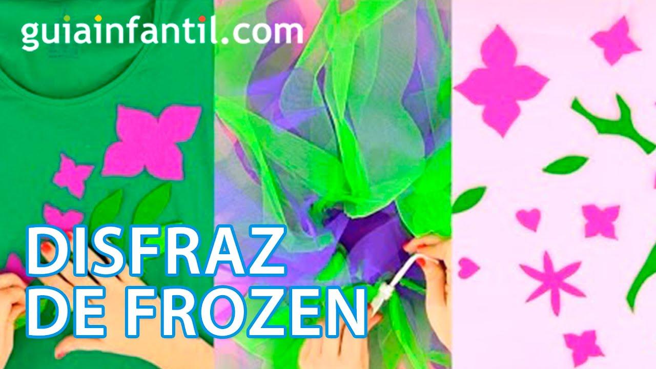 Cómo hacer un disfraz de Frozen paso a paso | Manualidades de Carnaval